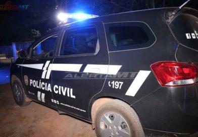 Preso por ordem judicial acusado de abusar sexualmente das filhas em Lucas do Rio Verde