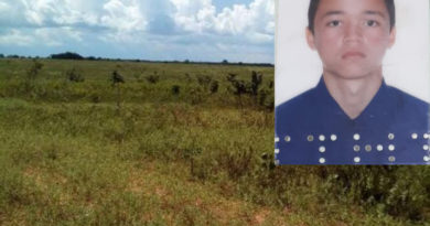 Paranatinga-Santiago do Norte: Jovem vai substituir pai, no trabalho em fazenda, e é encontrado morto e queimado
