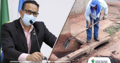 Belém solicita limpeza de bueiros, ruas e pintura de faixas de pedestres e meio-fio em bairros da região sul